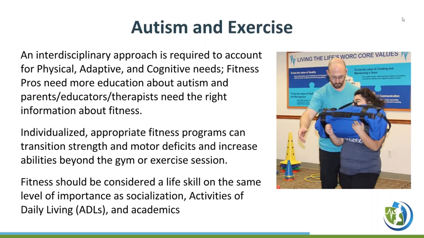 Reinventing the Wheel: Fitness for the Autism Population
