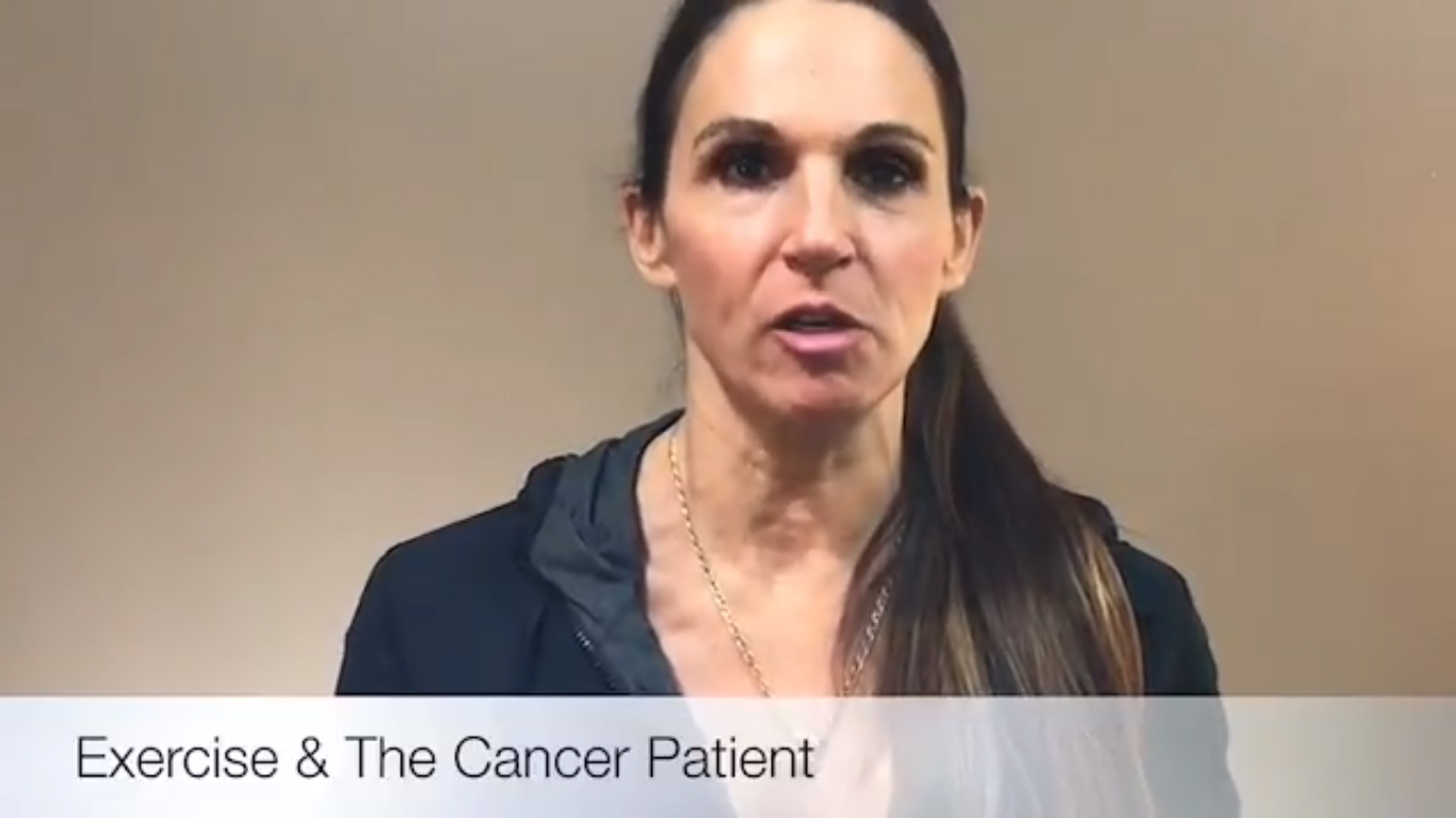 Exercise and The Cancer Patient