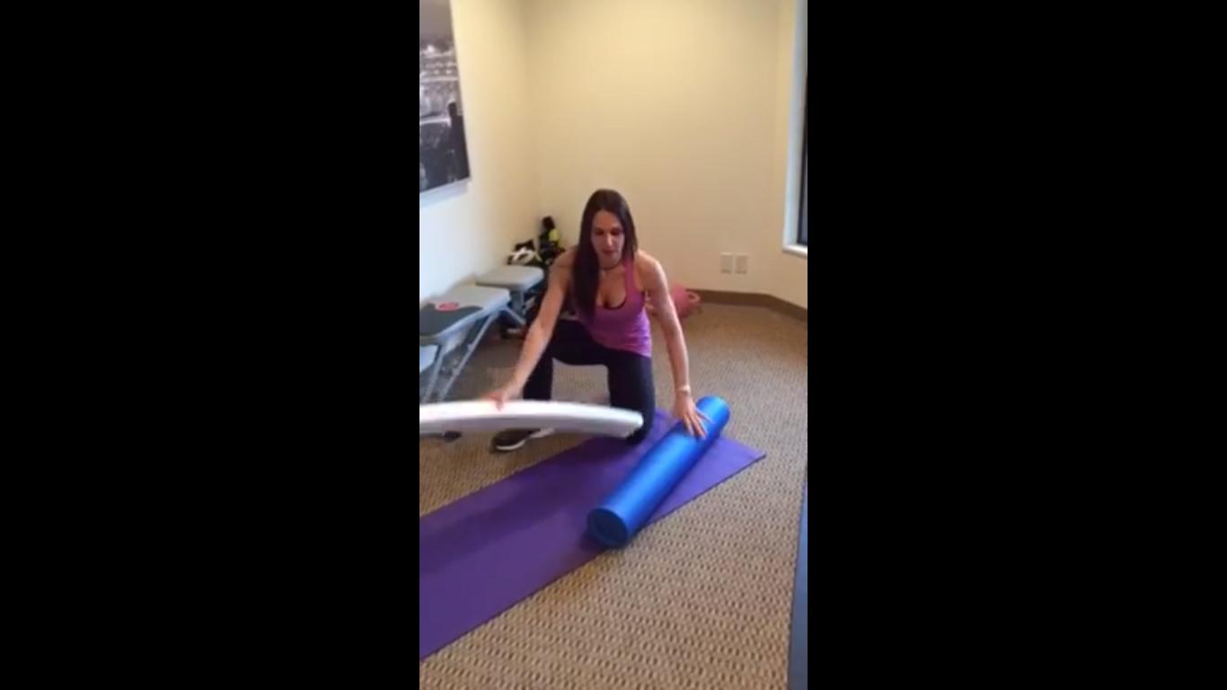 Foam Roller Core Strength & Balance