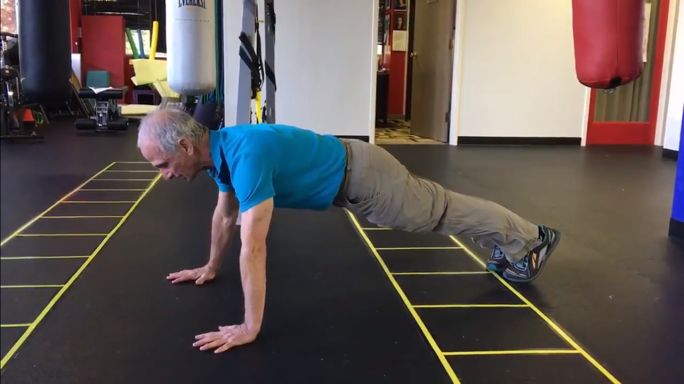 Push Up – Dr. Irv's Perfect Exercise Minute