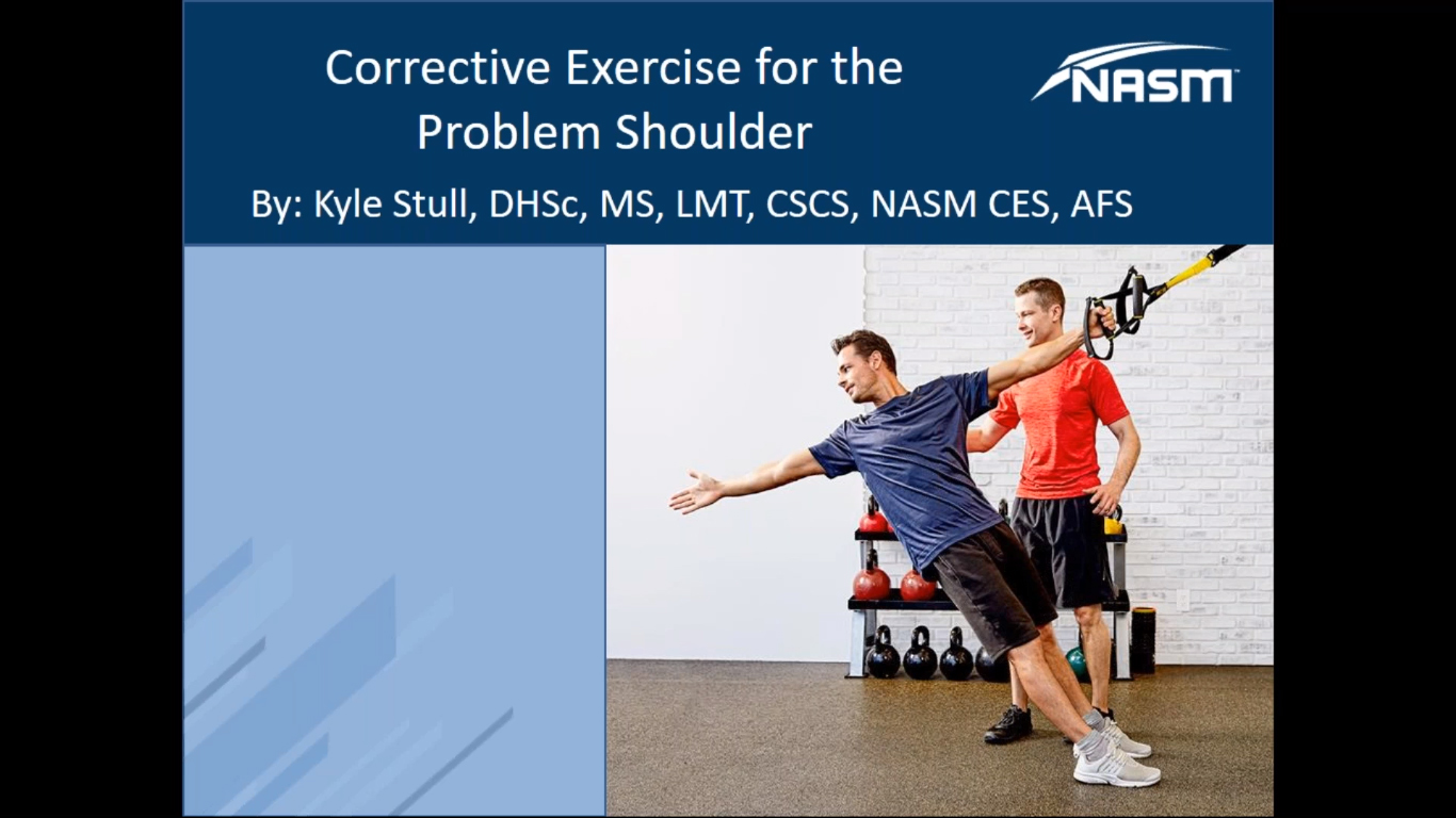 Corrective Exercise Strategies for Shoulder Impingement