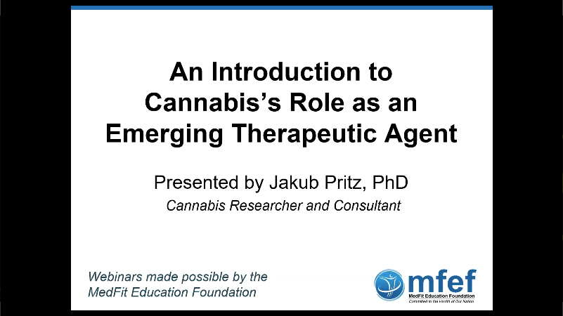 An Introduction to Cannabis's Role as an Emerging Therapeutic Agent