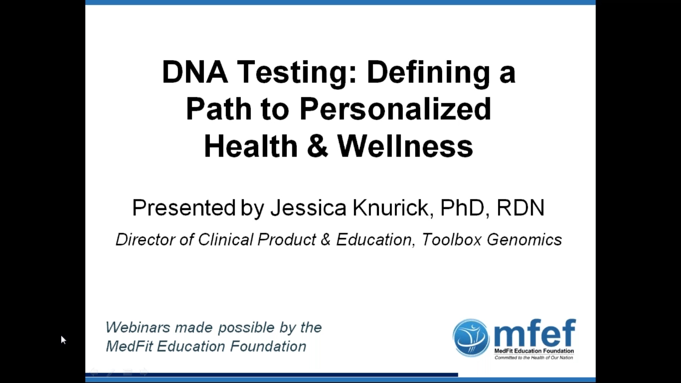 DNA Testing: Defining a Path to Personalized Health & Wellness