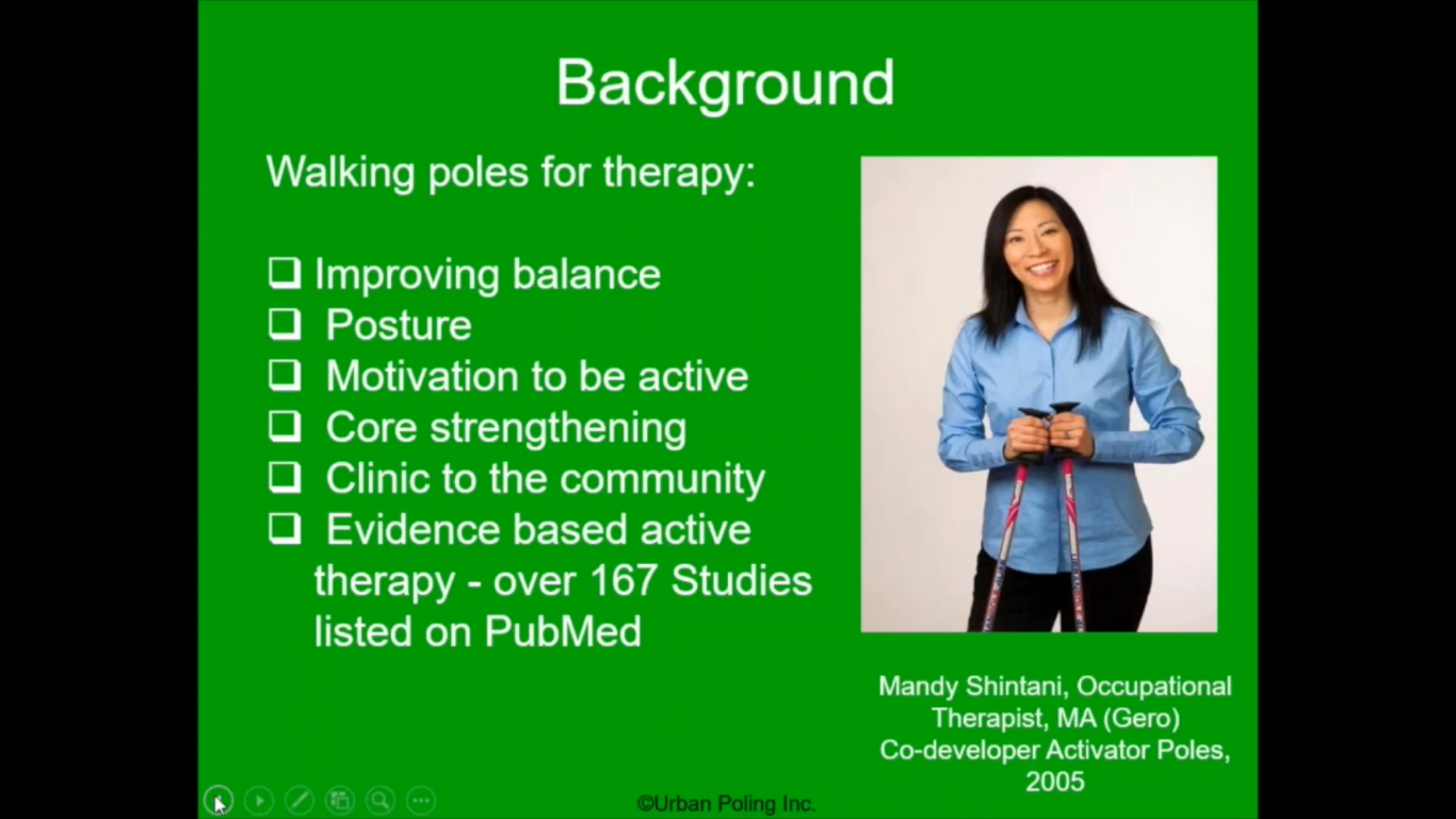 Urban Poling ACTIVATOR Rehab for Spinal Stenosis Post-Op Patients