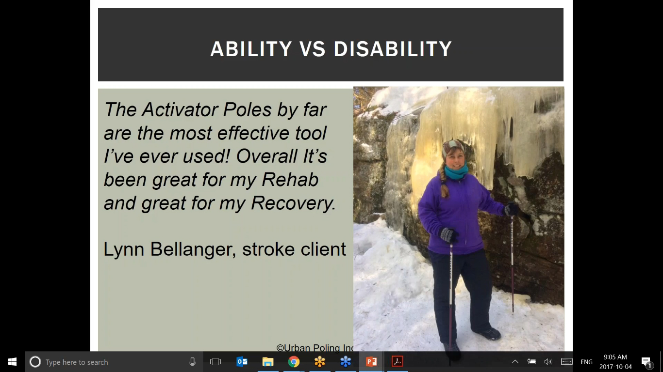 Active Living with Stroke Recovery | Urban Poling