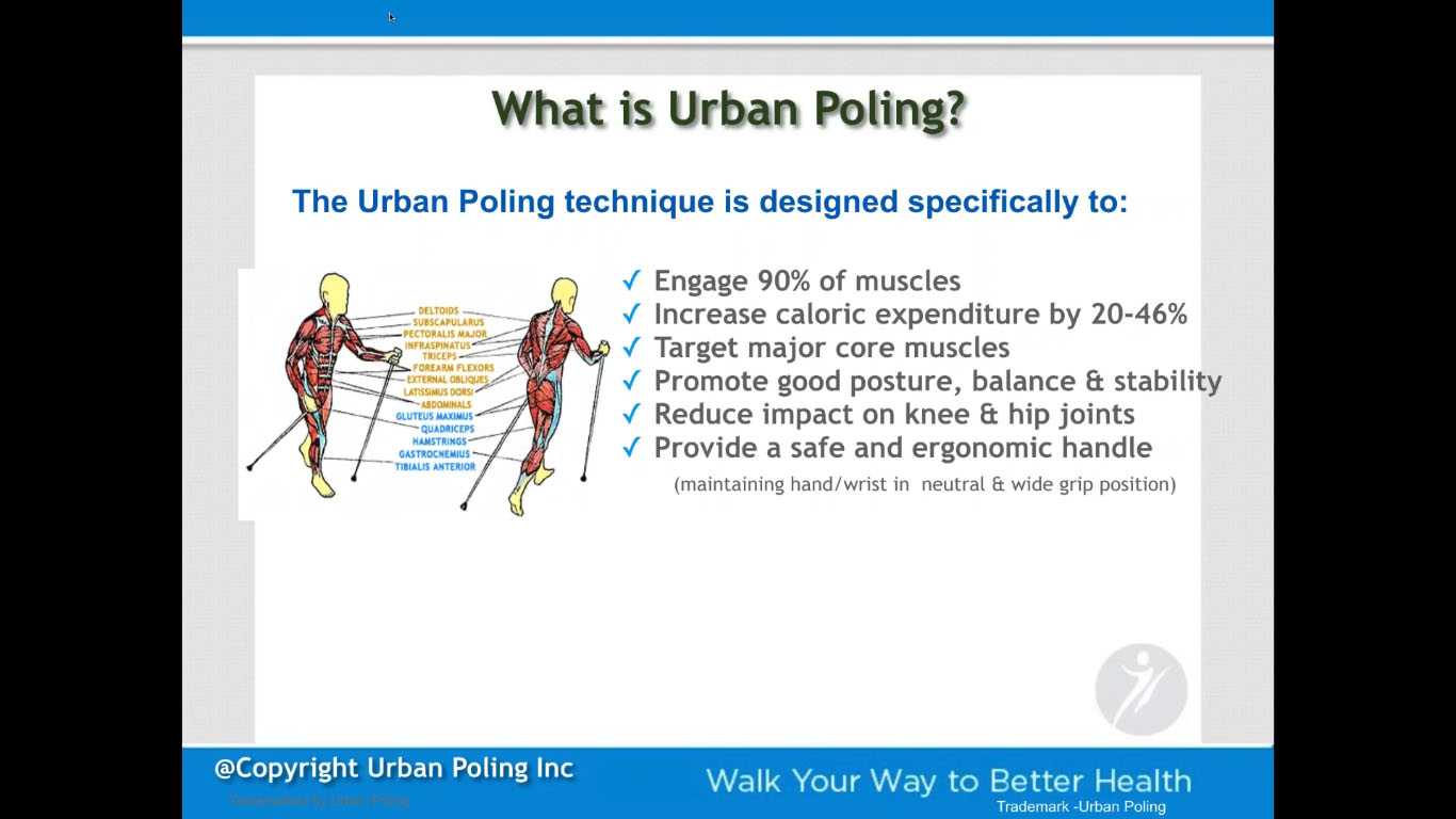 STEP UP with Urban Poling