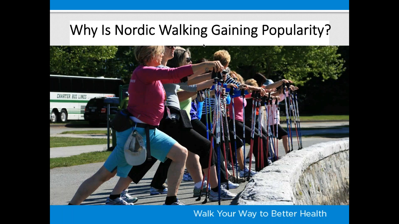 Walking the Nordic Way | Urban Poling