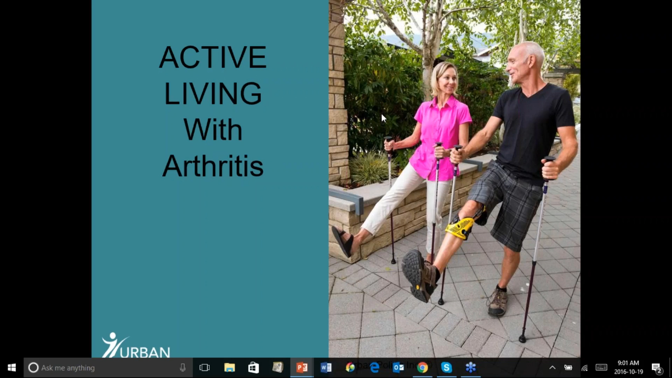 Active Living with Arthritis | Urban Poling
