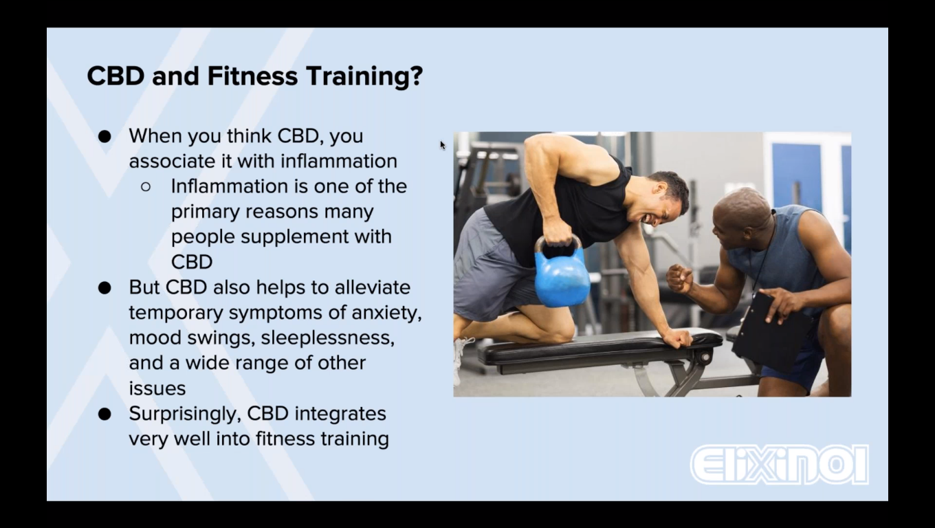 Why You Need CBD in Your Training Regimen Right Now