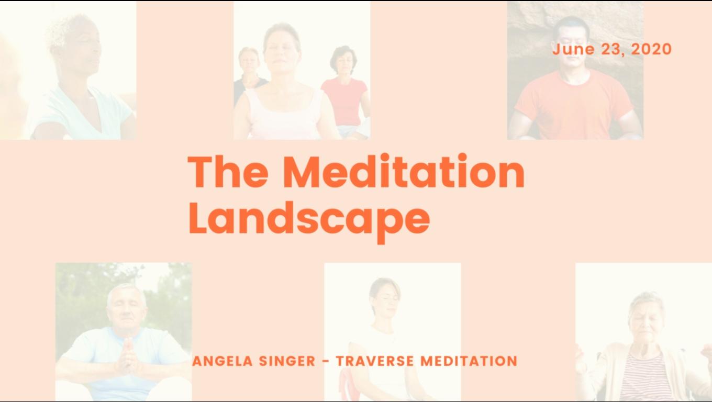The Meditation Landscape