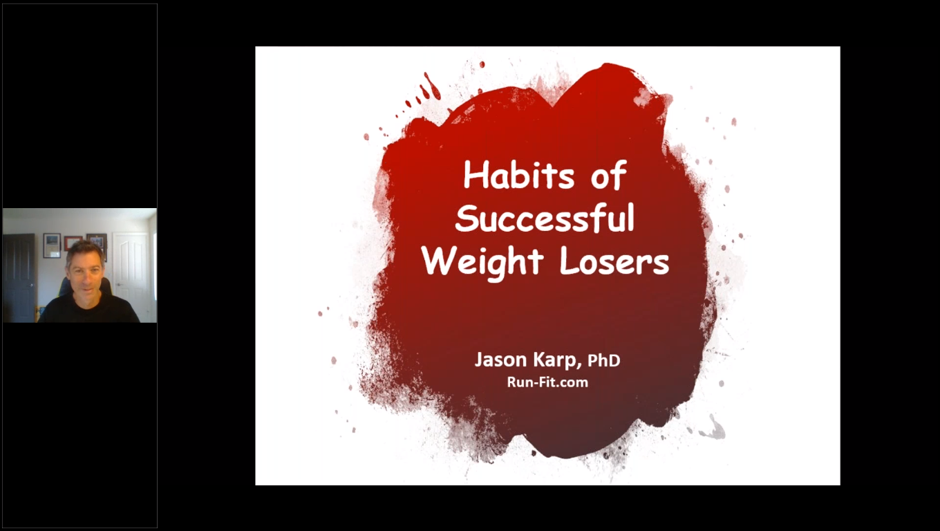 Lose It: The Habits of Successful Weight Losers from the National Weight Control Registry
